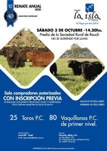 Cabaña LA ISLA @ Sociedad Rural de Rauch
