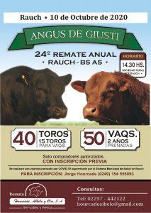 Cabaña ANGUS DE GIUSTI @ Sociedad Rural de Rauch