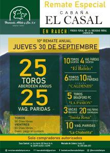 Cabaña EL CASAL @ Sociedad Rural de Rauch
